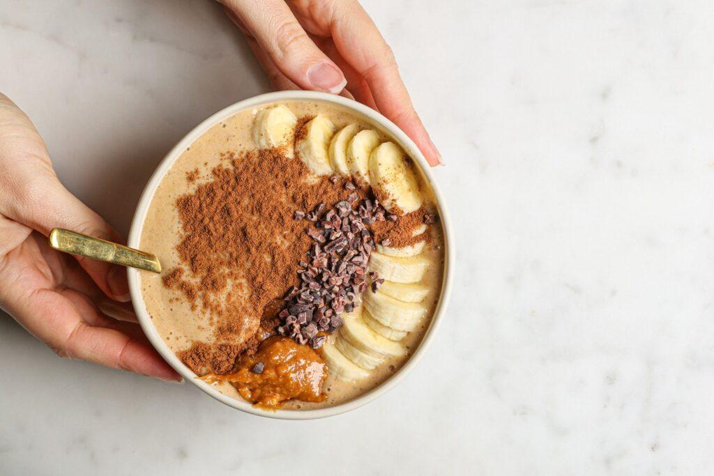 Easy vegan pumpkin pie smoothie