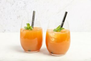 Detox mojito juice