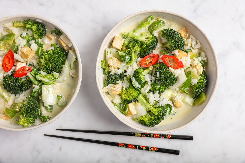 vegan thaise curry