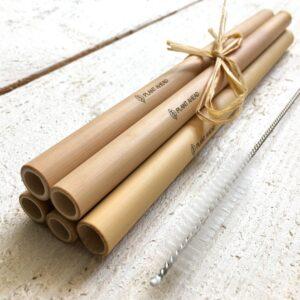 Plant Ahead bamboo straws