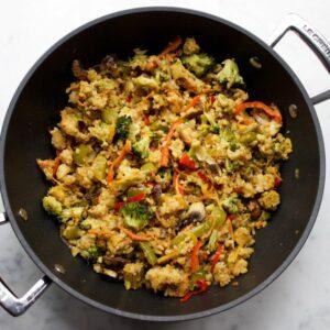 vegan nasi