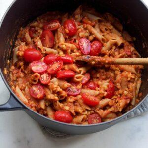De lekkerste vegan pastasaus