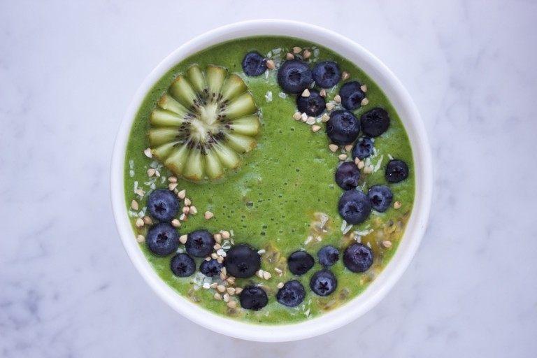 Vegan proteïne smoothie