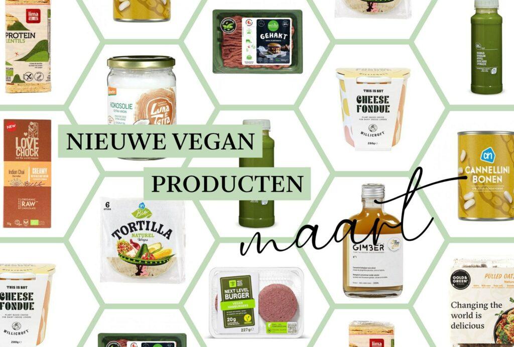 nieuwe vegan producten