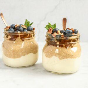 Speculaas-ontbijtparfait