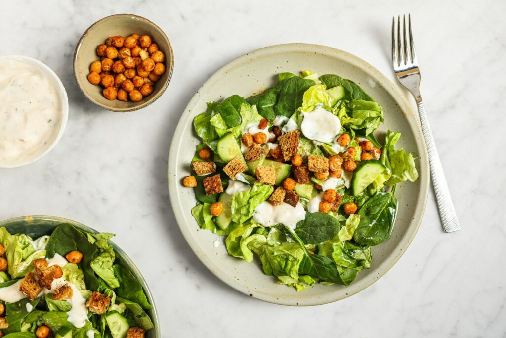 Vegan Caesarsalade