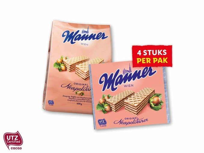 Manner-wafels
