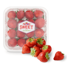 Sweet & sunny aardbeien