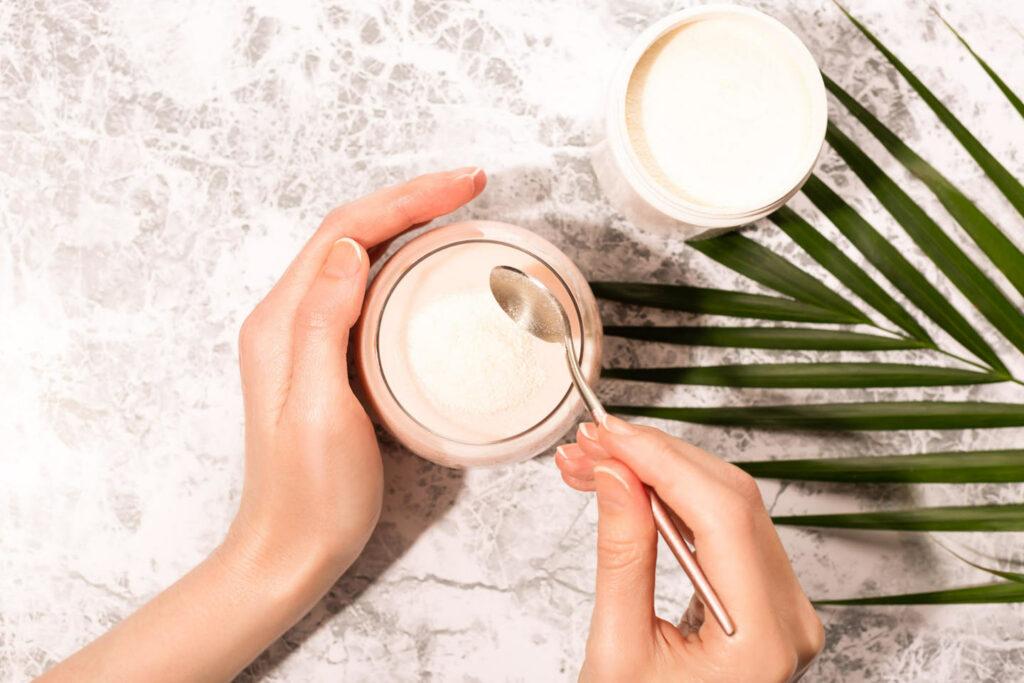 vegan beauty supplementen