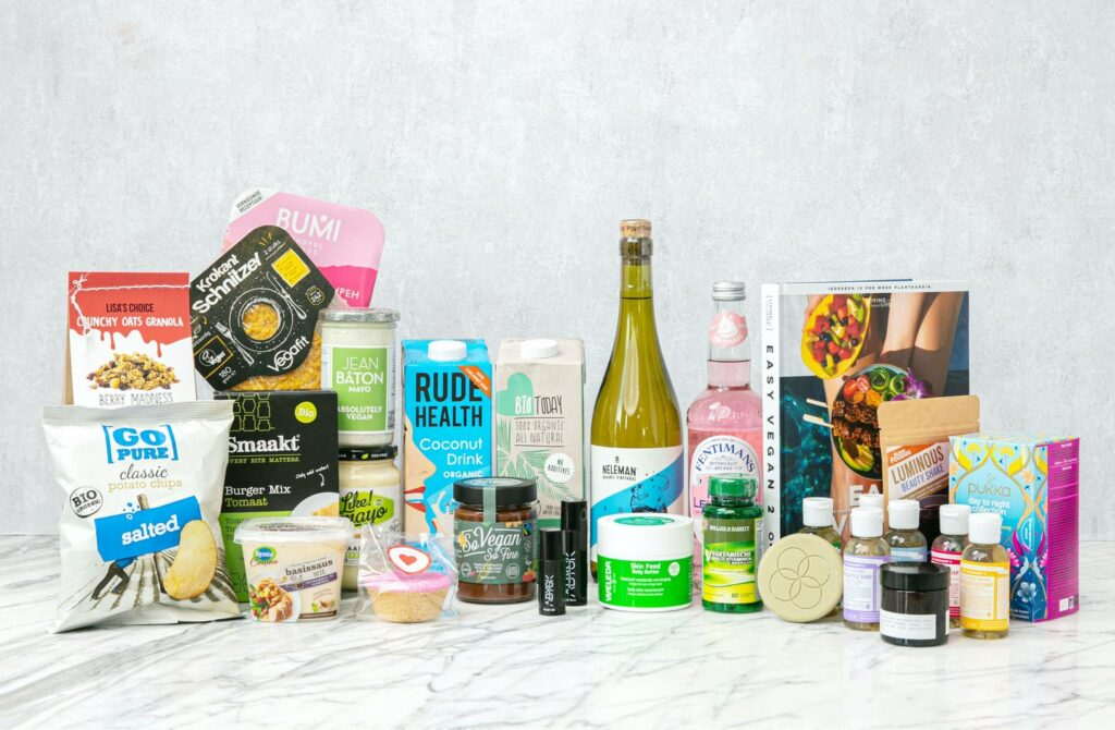 Easy Vegan box