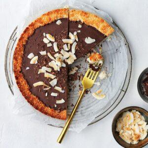 Kokos-chocoladetaart