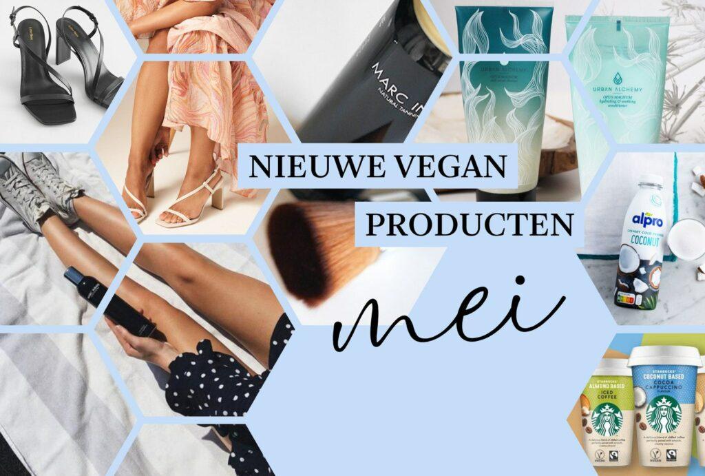 vegan producten van mei