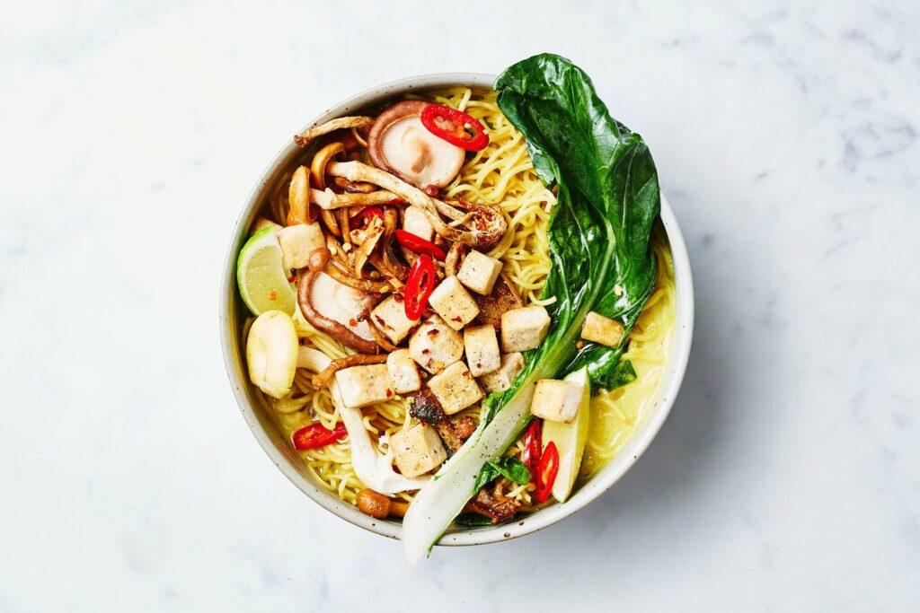 Thaise noodlesoep