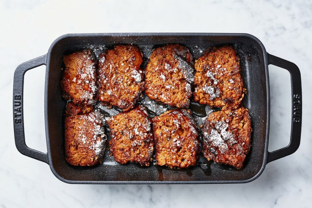 carrot cake-wentelteefjes