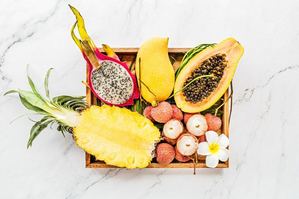 verschillende plantaardige voedingspatronen