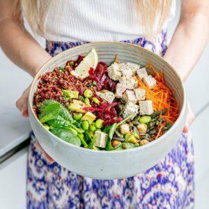 Quinoa salade met SoCheeze