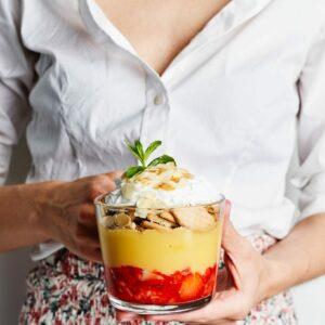 Vegan trifle