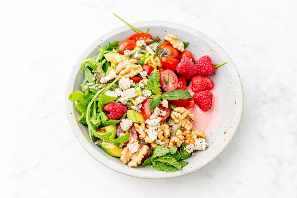 Zomerse salade met fermentino