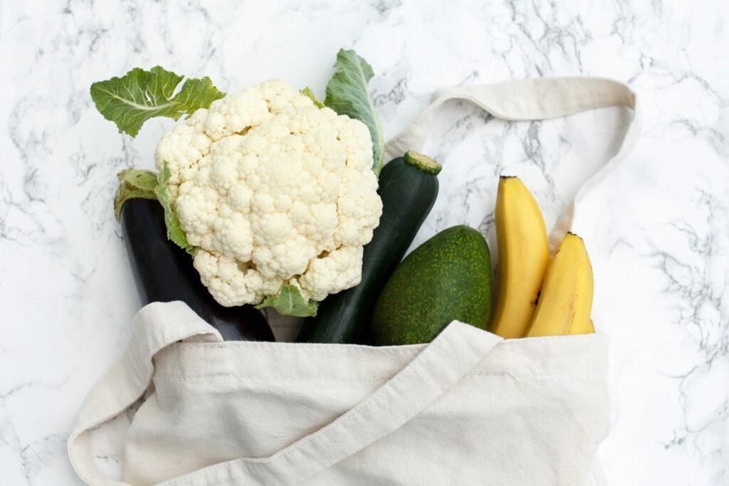 belangrijke vegan groenten