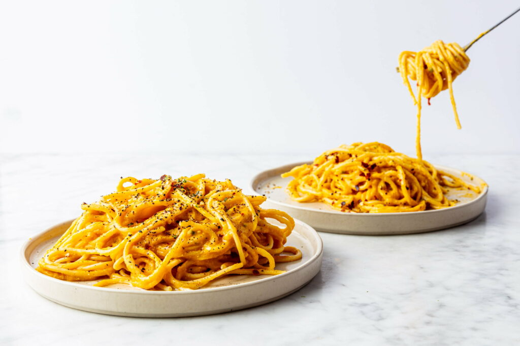 Spaghetti pompoen