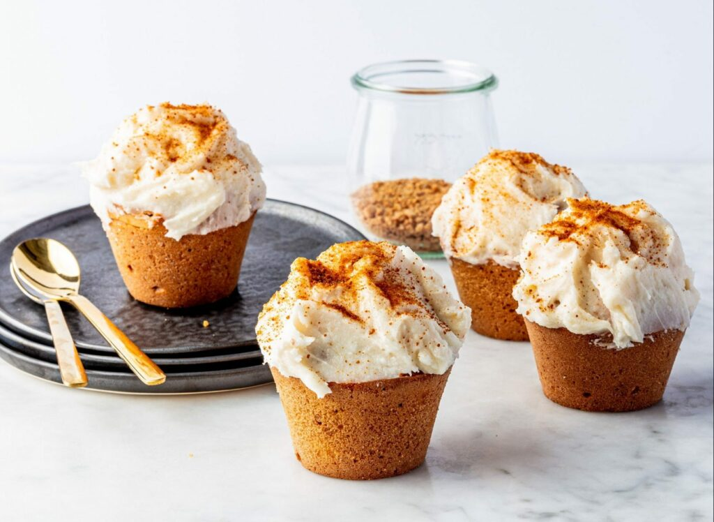 Vegan pepernoten muffins