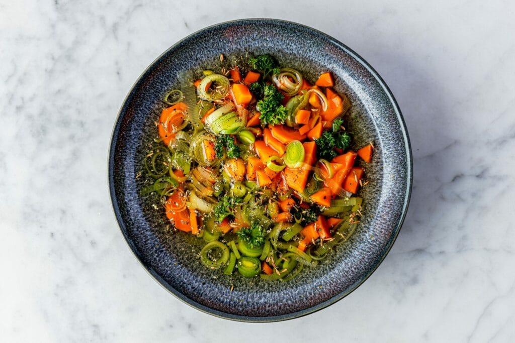 Vegan groentensoep