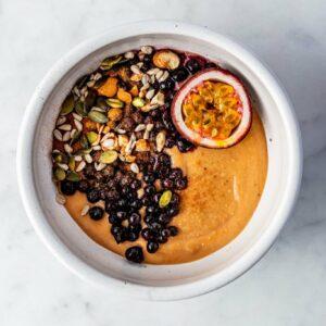 Zoete aardappel breakfast bowl