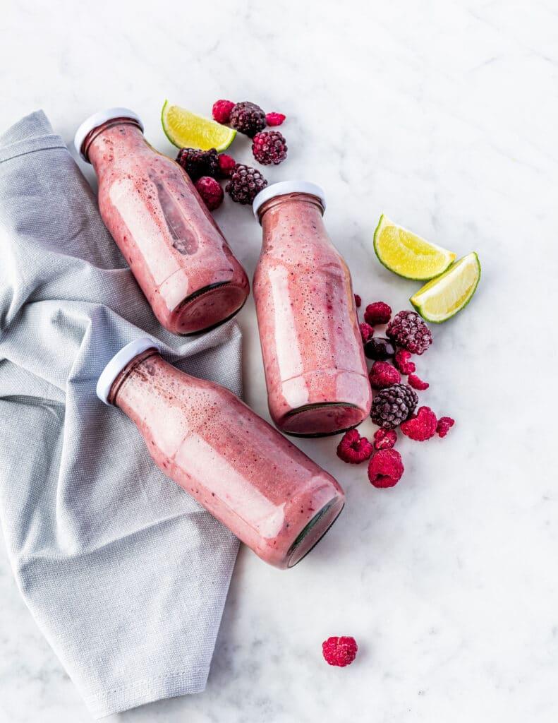 12 weken programma detox rood fruit smoothie