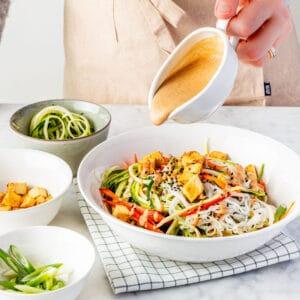 Easy Vegan Weight Loss Plan, Easy Vegan Fresh Start, Pad Thai