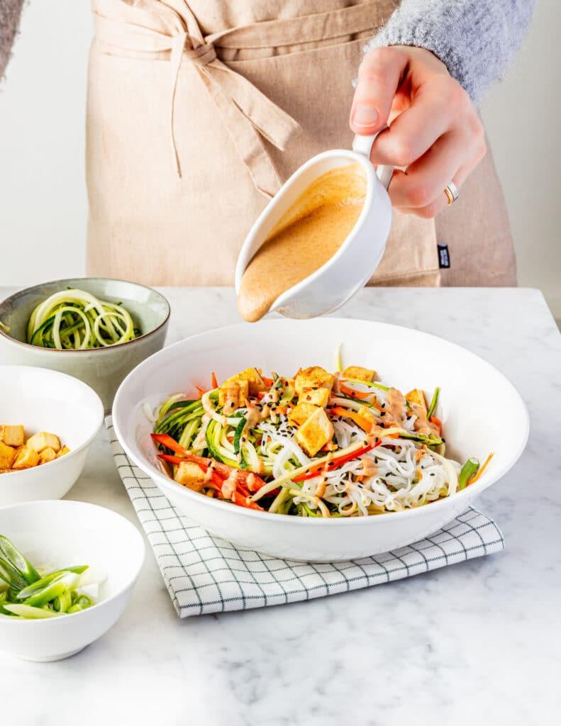 Pad Thai Easy Vegan