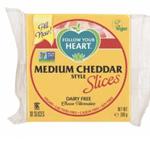 vegan kaas Follow Your Heart medium cheddar
