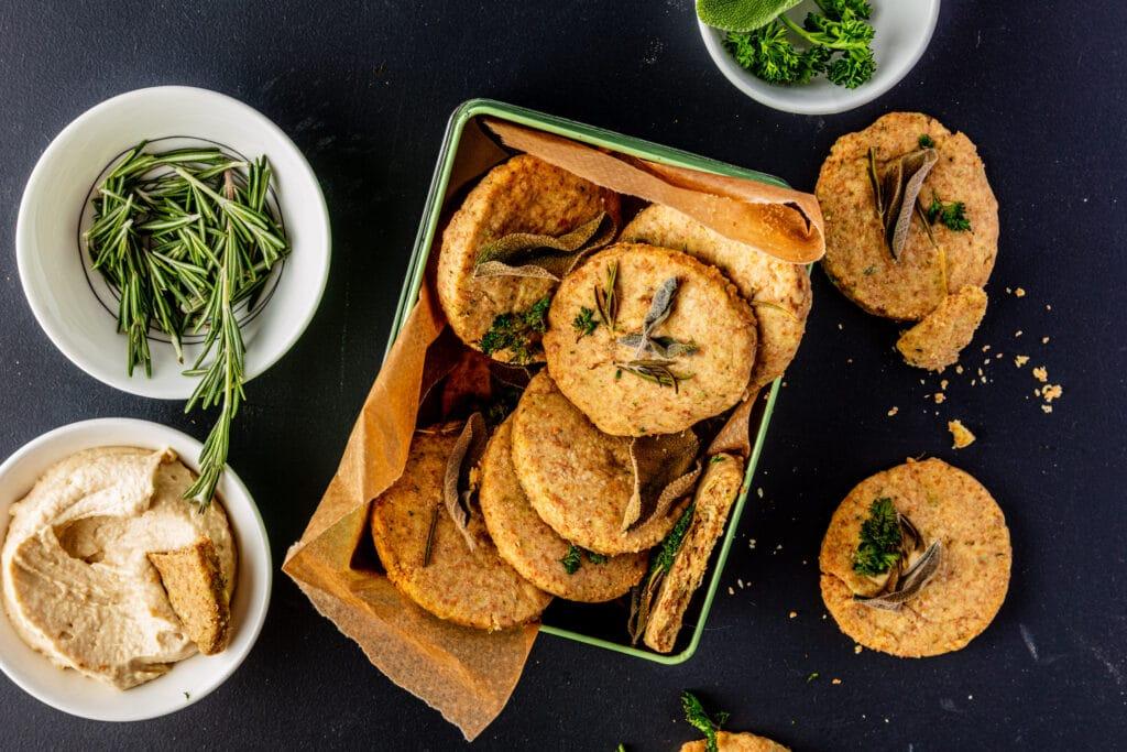Hartige shortbread cookies