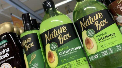 Haarverzorging supermarkt