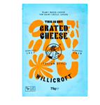 Vegan kaas Willicroft grated cheese