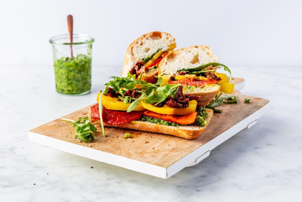 Italian sandwich recept