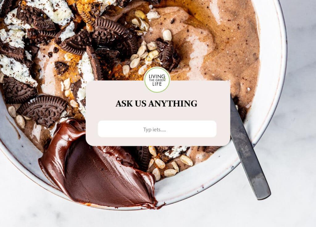 Q&A antwoorden op vegan vragen