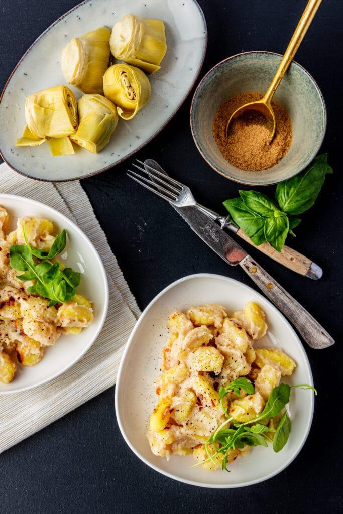 Romige gnocchi recept