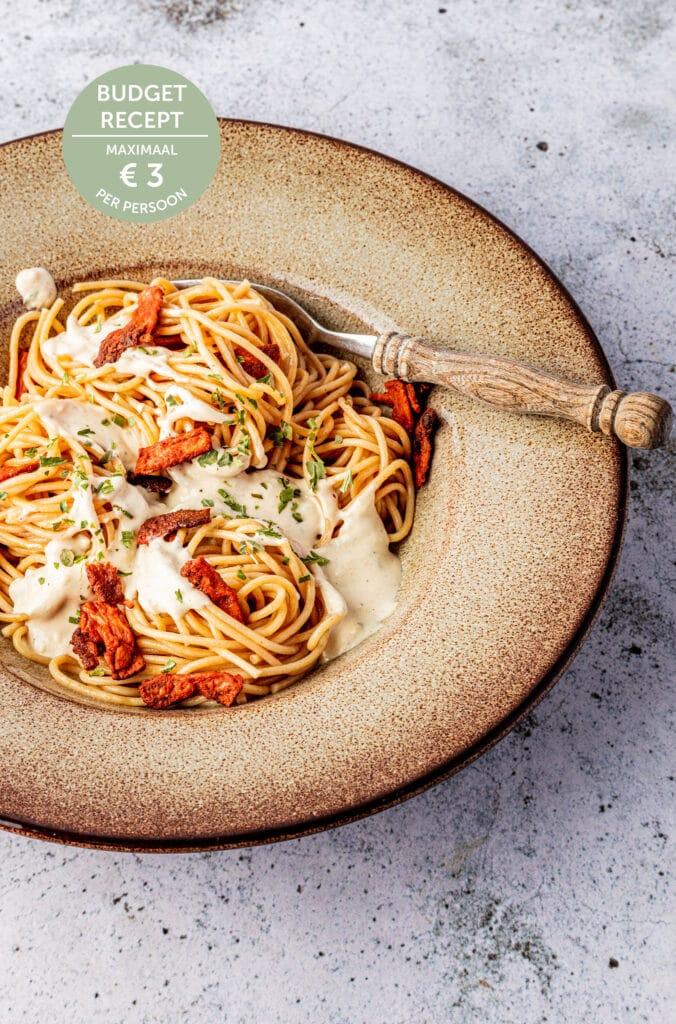 Budget recept-Pasta carbonara