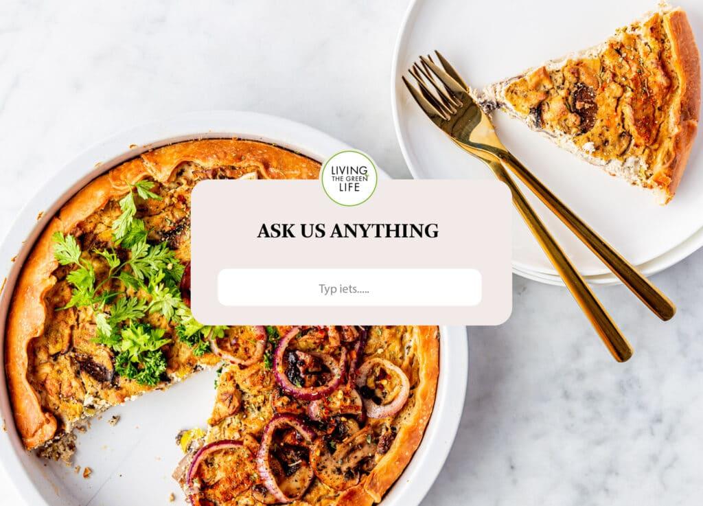 Q&A vegan vragen 16 augustus