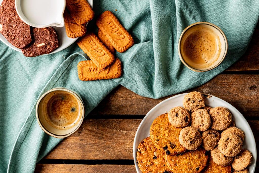Vegan voor bij de koffie