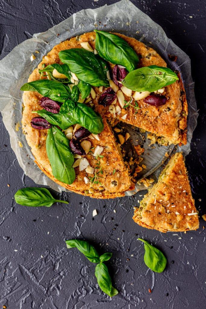 Hartige vegan cheesecake
