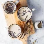 Lavendel moon milk - recept