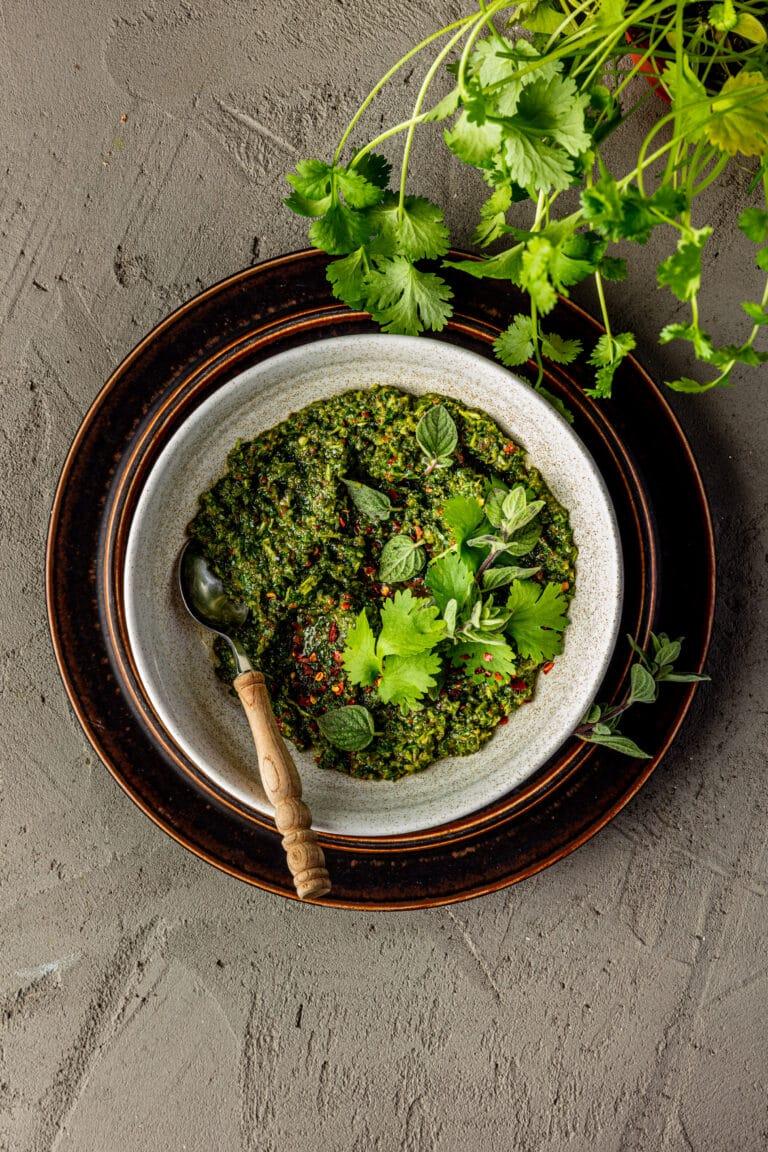 Snelle vegan Chimichurri recept