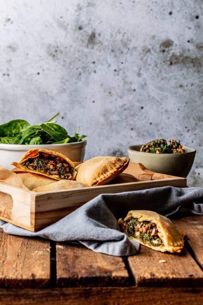 Vegan empandas uit de oven recept
