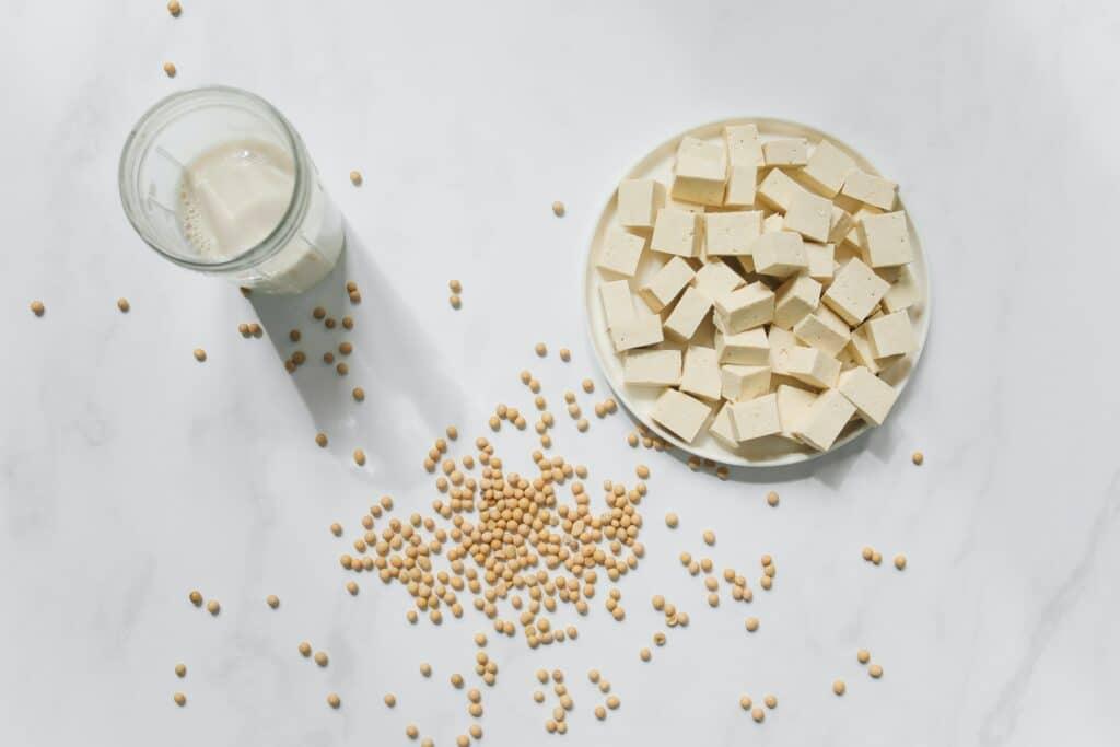Vegan zonder soja