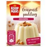 koopmans griesmeel pudding amandel
