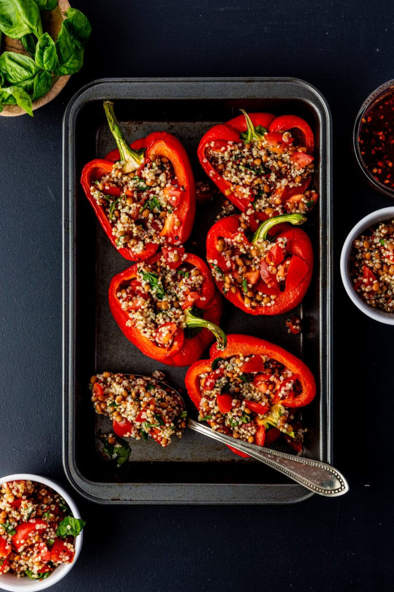 Gevulde paprika Frecious recept