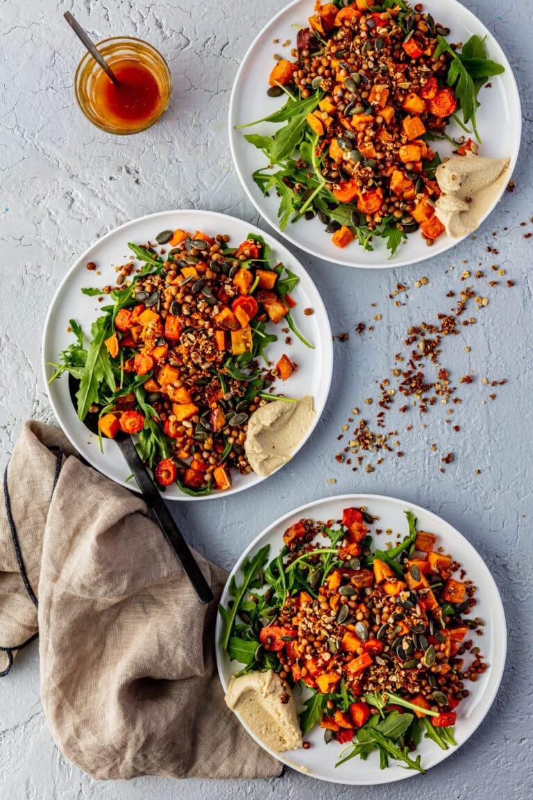 Indian summer salade recept