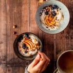 Recept voor appels uit de oven met vegan cashew yoghurt